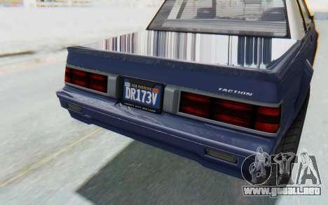 GTA 5 Willard Faction Custom Donk v3 IVF para vista lateral GTA San Andreas