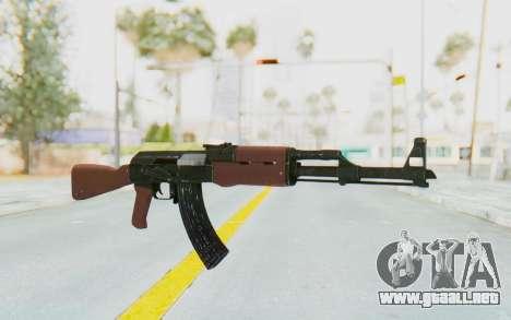 GTA 5 Shrewsbury Assault Rifle para GTA San Andreas segunda pantalla