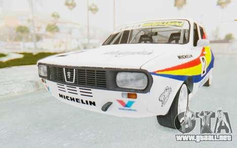 Dacia 1300 Rally para la visión correcta GTA San Andreas