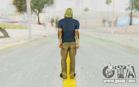 Kurt Cobain para GTA San Andreas tercera pantalla