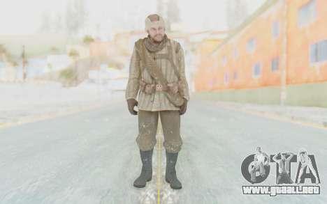COD BO Dimitri Petrenko Winter para GTA San Andreas segunda pantalla