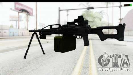 Kalashnikov PK (PKM) Holo para GTA San Andreas tercera pantalla