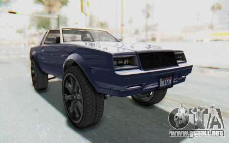 GTA 5 Willard Faction Custom Donk v3 IVF para la visión correcta GTA San Andreas