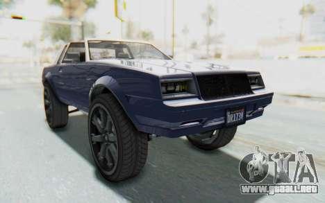 GTA 5 Willard Faction Custom Donk v3 IVF para la visión correcta GTA San Andreas