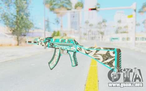 CS:GO - AK-47 Front Side Misty para GTA San Andreas segunda pantalla