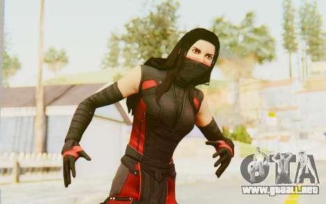 Marvel Heroes - Elektra para GTA San Andreas
