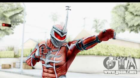 Lord Zedd from Power Rangers Mighty Morphin para GTA San Andreas