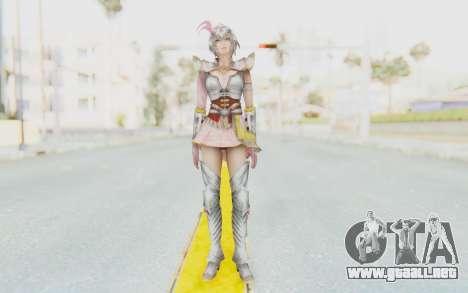 Dynasty Warriors 8 - Lu Lingqi v2 para GTA San Andreas segunda pantalla