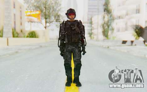 CoD Advanced Warfare ATLAS Soldier 1 para GTA San Andreas segunda pantalla
