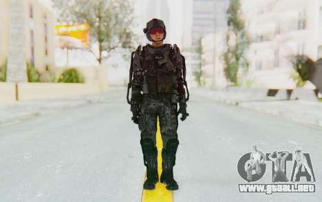 CoD Advanced Warfare ATLAS Soldier 1 para GTA San Andreas segunda pantalla