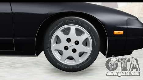 Nissan 240SX 1994 v2 para GTA San Andreas vista hacia atrás
