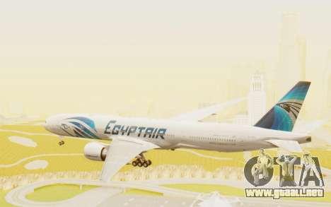 Boeing 777-300ER EgyptAir para la visión correcta GTA San Andreas