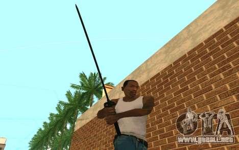 Sword of Blades para GTA San Andreas sucesivamente de pantalla