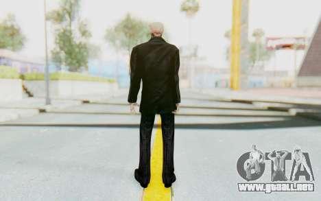 Skeleton in Tuxedo para GTA San Andreas tercera pantalla