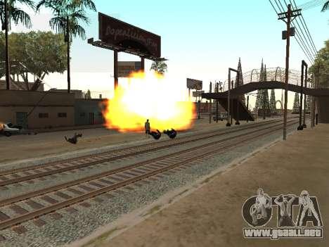 Blast machines para GTA San Andreas segunda pantalla