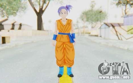 Dragon Ball Xenoverse Female Saiyan SJ para GTA San Andreas segunda pantalla