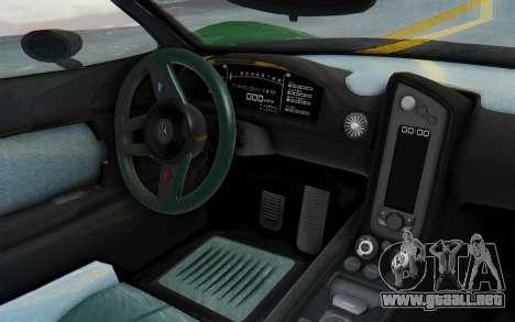 GTA 5 Progen T20 Devil PJ para visión interna GTA San Andreas