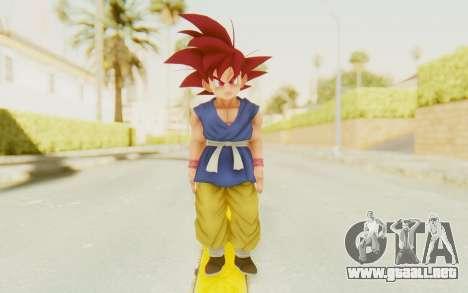 Dragon Ball Xenoverse Goku Kid GT SSG para GTA San Andreas segunda pantalla