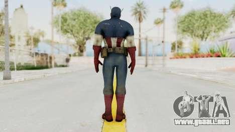 Captain America Super Soldier Classic para GTA San Andreas tercera pantalla