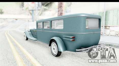 Unique V16 Fordor para la visión correcta GTA San Andreas