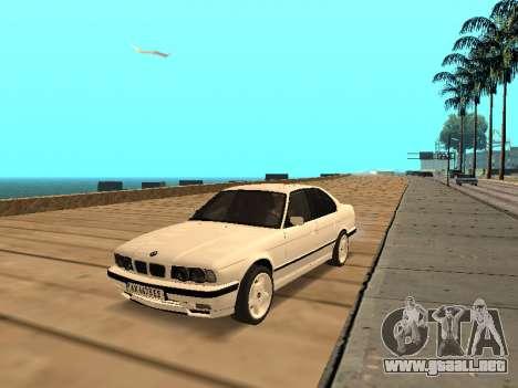 BMW E34 - EK edition para GTA San Andreas
