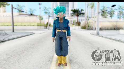 Dragon Ball Xenoverse Future Trunks SSGSS para GTA San Andreas segunda pantalla