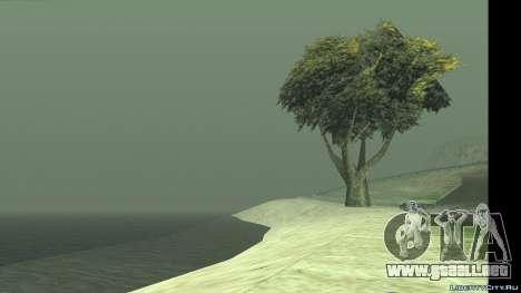El cambio de clima y el tiempo para GTA San Andreas segunda pantalla
