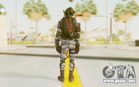 Federation Elite SMG Urban-Navy para GTA San Andreas tercera pantalla