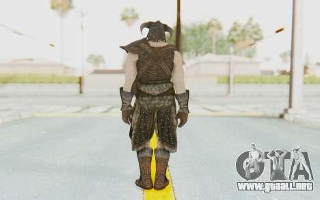 Skyrim - Dovahkiin para GTA San Andreas tercera pantalla