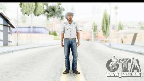 GTA 5 Mexican Gang 1 para GTA San Andreas segunda pantalla