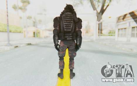 COD MW2 Russian Paratrooper v3 para GTA San Andreas tercera pantalla