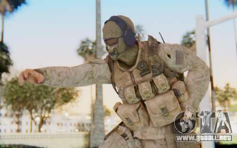 CoD MW2 Ghost Model v2 para GTA San Andreas