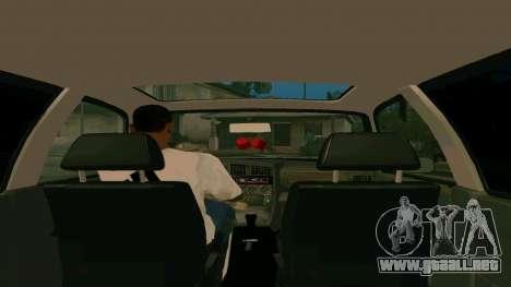 Volkswagen Passat B3 para vista lateral GTA San Andreas