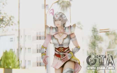 Dynasty Warriors 8 - Lu Lingqi v2 para GTA San Andreas