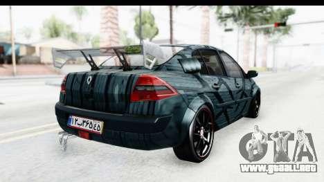 Renault Megane Sport para GTA San Andreas left
