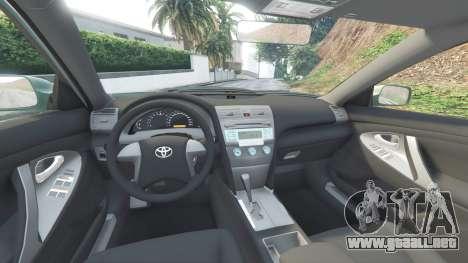 GTA 5 Toyota Camry V40 2008 [tuning] delantero derecho vista lateral