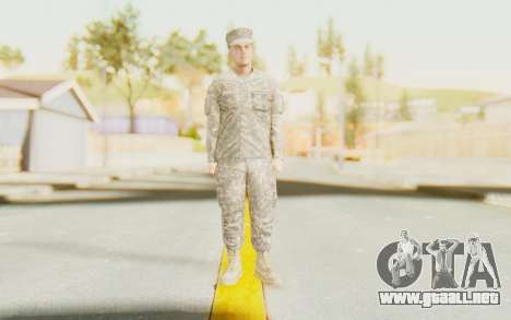 Military Casual Outfit para GTA San Andreas segunda pantalla