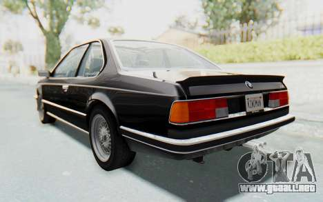 BMW M635 CSi (E24) 1984 IVF PJ3 para GTA San Andreas left