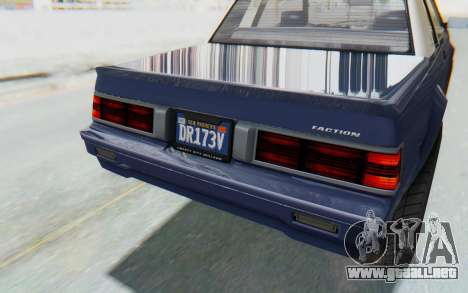 GTA 5 Willard Faction Custom Donk v3 IVF para la vista superior GTA San Andreas