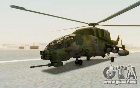 WZ-19 Attack Helicopter para la visión correcta GTA San Andreas