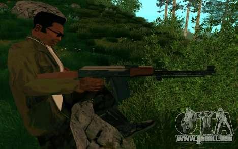 El PKK para GTA San Andreas quinta pantalla