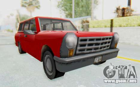GTA 3 Perennial para la visión correcta GTA San Andreas