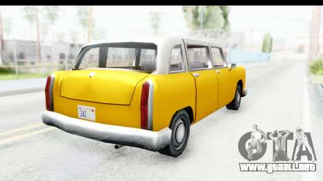 Cabbie London para GTA San Andreas left