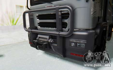 GTA 5 HVY Brickade IVF para visión interna GTA San Andreas