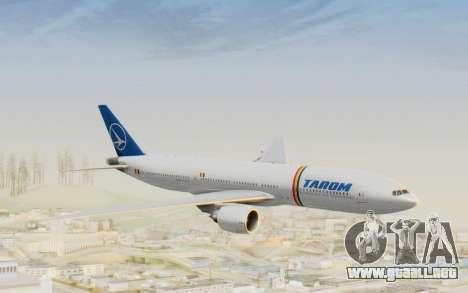 Boeing 777-200 TAROM Romania para GTA San Andreas