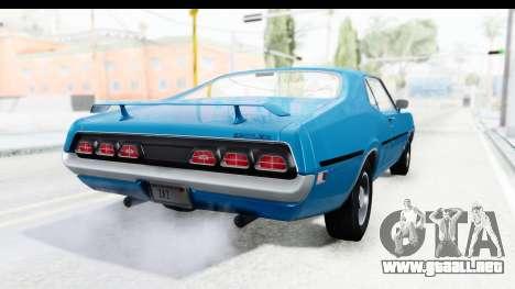 Mercury Cyclone Spoiler 1970 para GTA San Andreas left