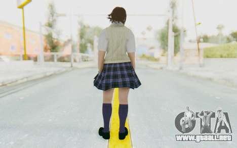 Asuka Kazama (School) para GTA San Andreas tercera pantalla