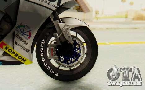 Honda RC212V para GTA San Andreas vista hacia atrás