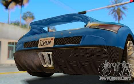 GTA 5 Grotti Cheetah SA Lights para visión interna GTA San Andreas