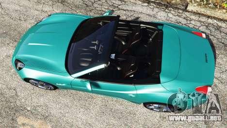 GTA 5 Ferrari California Autovista [add-on] vista trasera